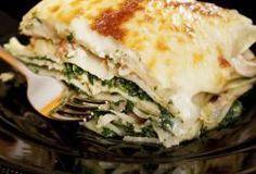 Healthy  Spinach & Chicken Lasagna
