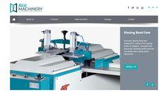 Alu Machinery Kontrol Panelli Web Sitesi - Silüet Tanıtım Web Tasarım