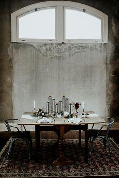 Unique modern tablescape   Image by Sarah Joy Photo