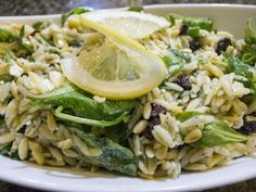 Orzo Salad with Dried Cherries & Arugula. A friend made this and it was so good!