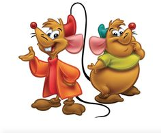 Jaq and Gus, Cinderella's mice friends
