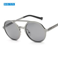 62348a50fe 2017 Retro UV400 Polarized Sun Glasses For Male Classic Sunglasses Aluminum  magnesium For Men SHSG2393-in Sunglasses from Men's Clothing & Accessories  on ...