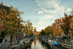 Amsterdam - The beautiful light of Amsterdam - Holland