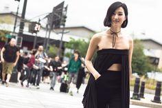 #nyfw #newyork #fashionweek #ss15 #womenswear #streetfashion #streetstyle #fashion #snap , #NicholeWarne , #MarcbyMarcJacobs #allblack by #wtdaf