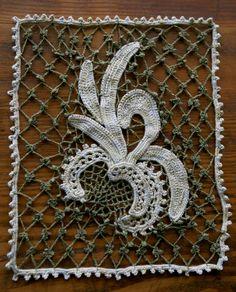 Modern Crochet Goddess: Irish Crochet Together Blog Challenge Project