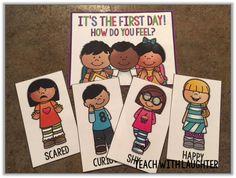 FREE first day of school feelings.