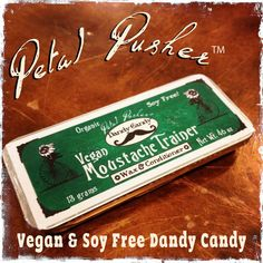Vegan Soy-Free Dandy Candy Moustache Wax  by PhoenixAccoutrements
