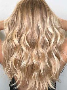 Blonde Hair Shades, Golden Blonde Hair, Blonde Hair Looks, Blonde Hair With Highlights, Red Hair, Blonde Wig, Color Highlights, Neutral Blonde Hair, Honey Blonde Hair Color