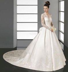 Womens-039-A-Line-Wedding-Dress-039-Full-Length-Sz-2-NWT-Original-Price-316 Dream dress, click below.