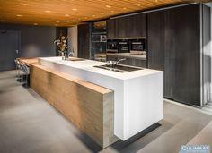 Our design - Culimaat - High End Kitchens Kitchen Room Design, Modern Kitchen Design, Kitchen Layout, Kitchen Interior, Home Interior Design, Kitchen Decor, High End Kitchens, Black Kitchens, Latest Kitchen Designs
