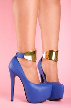 Stiletto Goddess(blue) Lola Shoetique