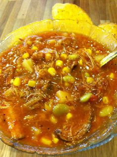 My mama's Brunswick Stew is the BEST! Try it :)