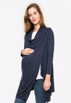 83d6dbe5050f COLINECHALE LS - Maternity cardigan - Envie de Fraise