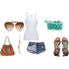 Summer outfit....polyvore