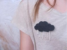 Mám rada dážď brošna - SAShE.sk