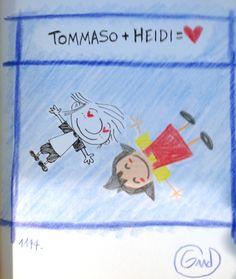 Heidi Mon Amour di Gud #graphic novel #fumetti #amore #cartoni animati #anime