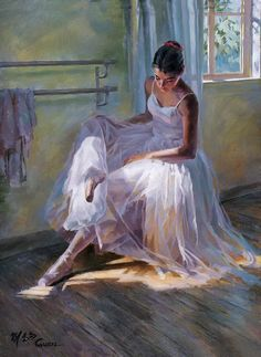 Guan zeju painting for sale - Guan zeju is handmade art reproduction; You can buy Guan zeju painting on canvas or frame. Ballet Art, Ballet Girls, Ballet Dancers, Ballerinas, Ballet Shop, Ballerina Kunst, Ballerina Painting, Dance Paintings, Cross Paintings