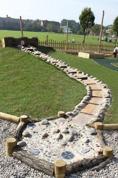 Nature inspired outdoor play spaces