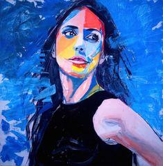 28 Meilleures Images Du Tableau Portraits à La Peinture Acrylique En