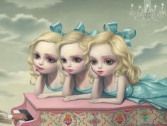 """Piano Player"" by Mark Ryden"