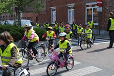 Go for a ride with the whole school