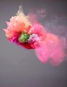 Fotografias ahumadas - Pigment Fireworks, Marcel Christ