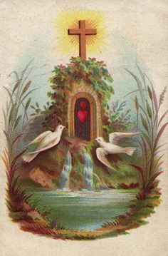 """By this holy water and by Thy Precious Blood wash away all my sins, O Lord.""-Say this as you make the sign of the cross over yourself.  Untold spiritual wealth is concentrated in a tiny drop of blessed water."