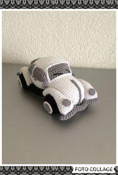 VW kever gemaakt van katoen.  Zie de link waar het patroon te vinden is.