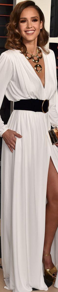 Jessica Alba 2016 Vanity Fair Oscar Party