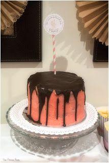 Primer cumpleaños de Paula - birthday - party - fiesta - decoración - ideas - tarta - layercake - chocolate