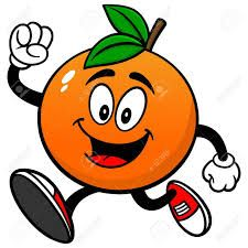 Resultado De Imagen Para Naranja Fruta Animada Bonito Kawaii