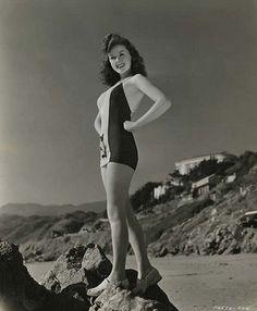 Susan Hayward #vintage #beach