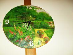 Anikó Gondos - Google+ Tree Skirts, Decoupage, Clock, Christmas Tree, Sign, Holiday Decor, Google, Wall, Home Decor