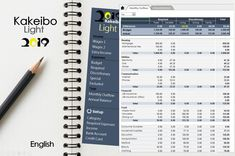 Kakeibo Light 2019 (English) - Family budget for 2019 with Excel spreadsheet Bullet Journal Savings Tracker, Excel Macros, Household Budget, Bar Graphs, Family Budget, Monthly Budget, Financial Planner, Budgeting, Finance