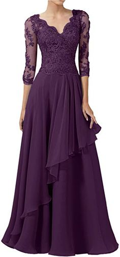 2296c423bab4 DINGZAN 2018 Wedding Guest Mother Of The Bride Dresses With Half Sleeves  Long Prom Gowns 10