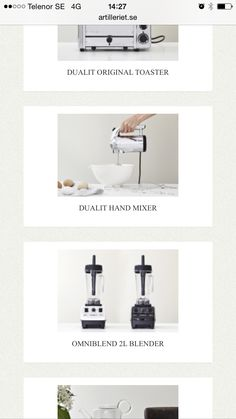 Hand Mixer, Toaster, The Originals, Toasters, Sandwich Toaster