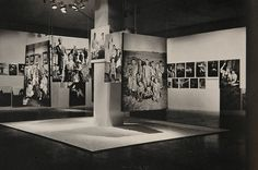 Family of Man, STOLLER Erza's photography of the Entrance into The exhibition. RUDOLPH Paul, architect. A Life in Photography, New York, Doubleday, 1963.