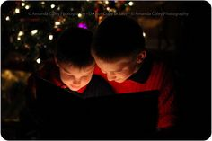 A Special Christmas Story and the bond 2 young brothers share.  This will always make me smile! Christmas, Tree, Train, Picture, Ideas, Portraits, Holiday, Lights, Kids, Family, Photography, Cards, Santa, Merry