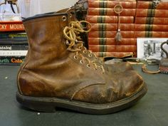 Vintage Red Wing 27539 Work Boots 1970s 10.5 D - Super Sole  #RedWing #Workboots #vintage #vintageboots