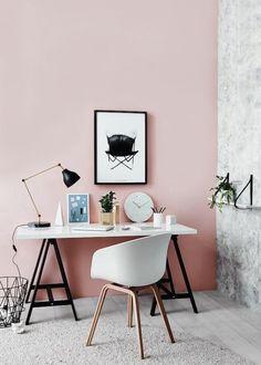 roze, trendkleur 2016, vrolijk worden terwijl je aan het werk bent