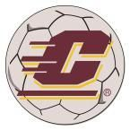 Ncaa Central Michigan University Cream (Ivory) 2 ft. 3 in. x 2 ft. 3 in. Round Accent Rug