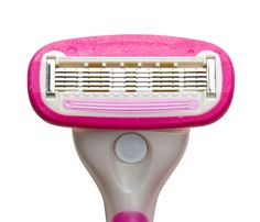 Two-Timing Beauty Products | Fear no more the dry, itchy, scaly after-shave feel. 800 Razors 5-Blade Women's Razor, $40 for 20, features a pivotal head and non-slip grip that allow you to shave tough areas even in an enclosed gym shower, promise. We even dare you to get rid of your shower cream! That's because blades neighbor a 360-degree lubricating strip packed with aloe.