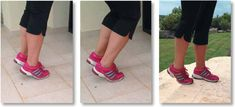 Hvis du lider af fod, knæ eller hoftesmerte: Her er 6 øvelser som hjælper Hip Pain, Knee Pain, Easy Workouts, At Home Workouts, Weak Ankles, Runner Tips, Bad Knees, Thigh Muscles, Senior Fitness