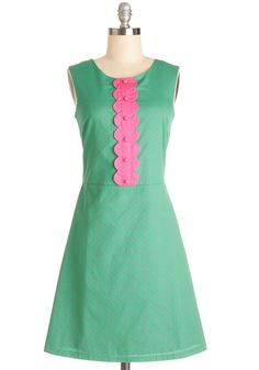 Torte and Sweet Dress. The name says it all - this springy green dress, which was given its moniker by Twitter user @SydneySaga in the Poetry Edition of our Name It  Win It Contest, is simply confectionary. #green #modcloth