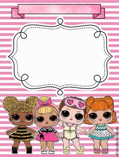 The centerpiece at this LOL Surprise Dolls birthday party i - Her Crochet Happy Birthday Sister, Happy Birthday Messages, Happy 1st Birthdays, 1st Birthday Girls, Surprise Birthday Invitations, Birthday Cards For Boyfriend, Birthday Frames, Paper Dolls Printable, Birthday Background