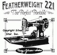 Singer Featherweight 221 - Everything & Anything you wanted to ...