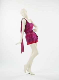 Carolyn Schnurer (American, 1908–1998). Bathing suit,1951. The Metropolitan Museum of Art, New York. Brooklyn Museum Costume Collection at The Metropolitan Museum of Art, Gift of the Brooklyn Museum, 2009; Gift of Carolyn Schnurer, 1951 (2009.300.1162)