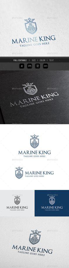 Marine King  Royal Ocean — Vector EPS #sky #restaurant • Available here → https://graphicriver.net/item/marine-king-royal-ocean/10111470?ref=pxcr