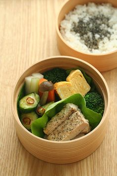 Beautiful Wappa Bento Lunch わっぱ弁当