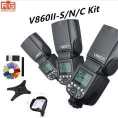 Godox Ving V860II V860II-C/N/S E-TTL HSS 1/8000 Without VB18 Battery Speedlite Flash for Canon Nikon Sony DSLR #Affiliate